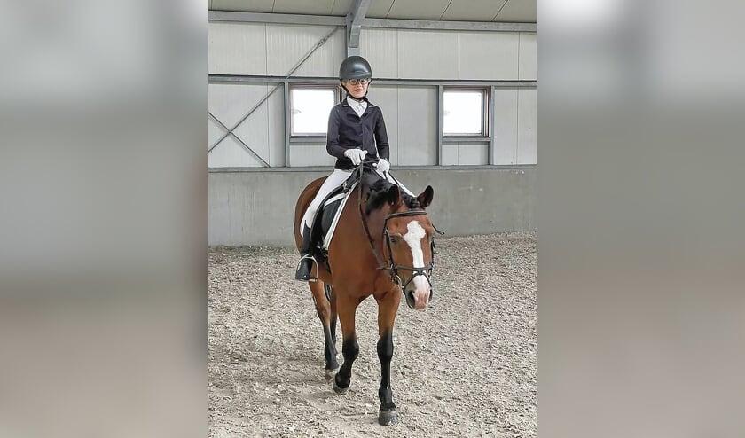 """<p pstyle=""""BODY"""">Ilana Maaijen behaalde samen met Boy de hoogste score van de dag.</p>"""