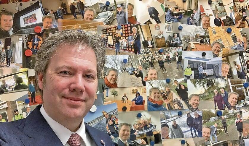 <p>Danny de Vries alweer 100 dagen burgemeester van Oudewater.</p>