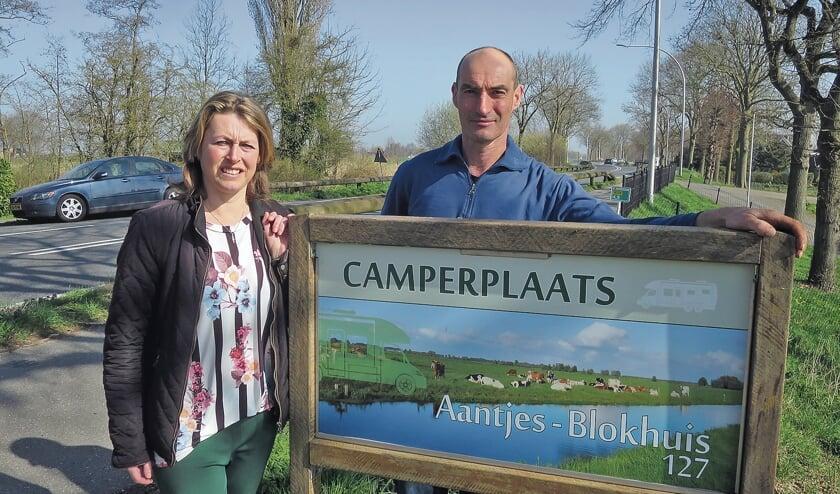 """<p pstyle=""""BODY"""">Wilma Aantjes en Martijn Blokhuis bevelen hun camperplaats aan.</p>"""