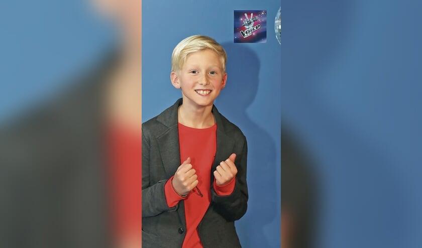 Robin Boere ontroert in The Voice Kids