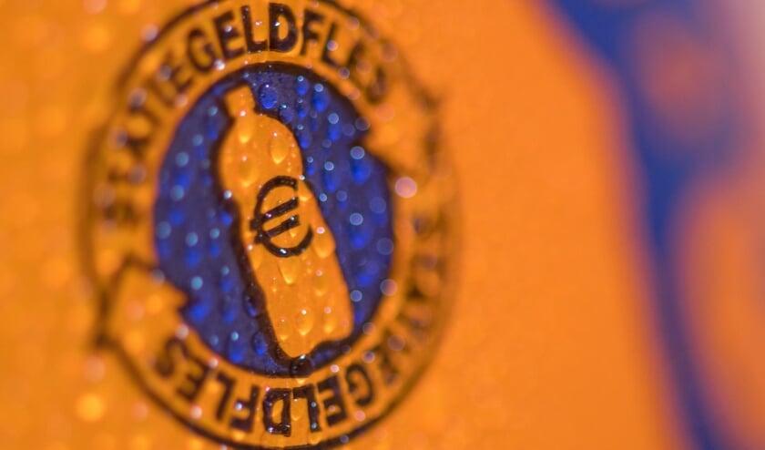 """<p pstyle=""""BODY"""">Het &#39;Statiegeld&#39;-logo staat vanaf nu op het etiket.</p>"""