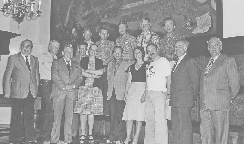 """<p pstyle=""""BODY""""><br>Raad in 1978: Achter; Ad de Groot (CDA), Jan de Butter (ORG),Jan Kroeze (PvdA), Gerard van Hooff (De Onafhankelijken), Koos Versseveld (VVD). Voor; Jochem Knol (VVD), Joop van &#39;t Riet (CDA), Ben Arke (CDA), Karel de Klein (CDA), Mari&euml;tte Rutten (CDA), Kees van der Stok (CDA), Ria Pollemans (De Onafhankelijken), John Lossie (PvdA), Nicolaas W.M. Mooijman (burgemeester) en Jaap Spruijt (gemeentesecretaris).</p>"""