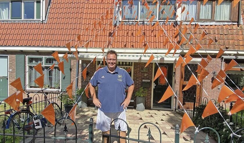"""<p pstyle=""""BODY"""">Ook Dennis Boele heeft zijn huis flink versierd.</p>"""