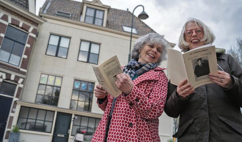 """<p pstyle=""""BODY"""">De organisatoren van de Herman de Manmaand, Lyanne de Laat (l.) en Gerda Hoogendijk.</p>"""