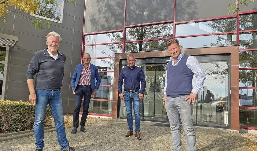 """<p pstyle=""""BODY"""">Van links naar rechts Harry van der Voort, Wim van den Pol, Harry van Zandwijk, Eelco Veltman.</p>"""