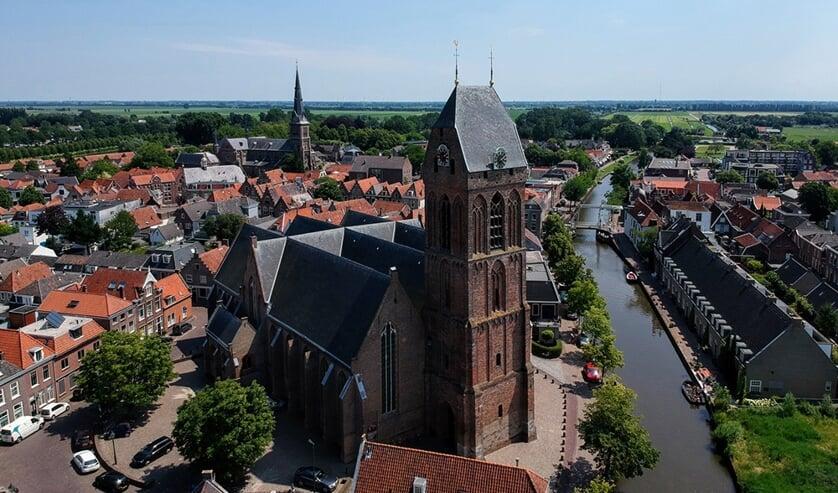 Grote kerk in Oudewater