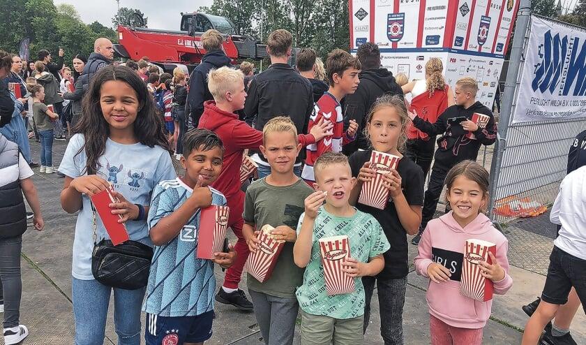 """<p pstyle=""""BODY"""">Kinderen konden genieten van heel veel popcorn!</p>"""
