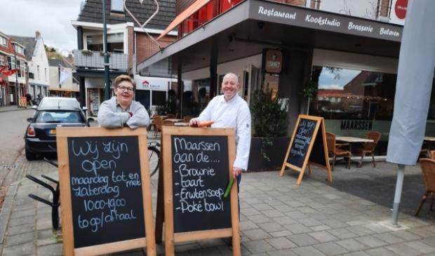 <p>Afhalen of bestellen: lekker eten van Maarssen aan de Kook.</p>