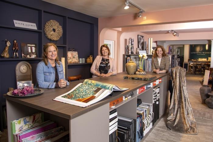 V.l.n.r.: Marjan van Rooijen, Tabitha Stet en Wendy Spaans