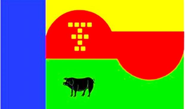 Vlag Tienhoven Toont
