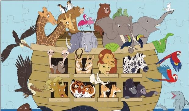 <p>alle dieren bij elkaar</p>
