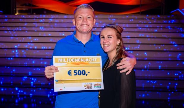 <p>Vak Utrecht wint 25.000 euro bij Postcode Loterij Miljoenenjacht dankzij Quincy (links). </p>