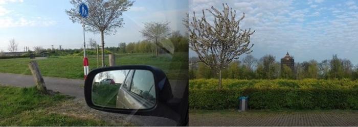 Voor deze cursus veel foto's gemaakt vanuit de auto, plekken die je misschien nog niet kende? Hier de Hamtoren. Dineke Oudijk © Van Dijk Grafimedia BV