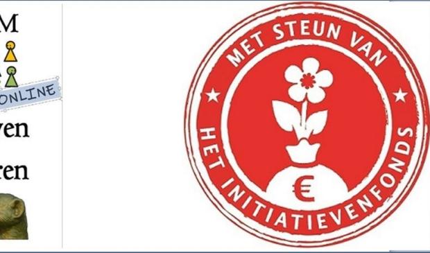 Het logo van onze Online TOOST en het Initiatievenfonds van de Gemeente Utrecht