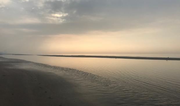 tot rust komen bij de zee