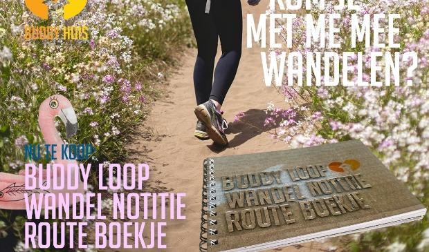 Buddy Loop Wandel Notitie Route Boekje
