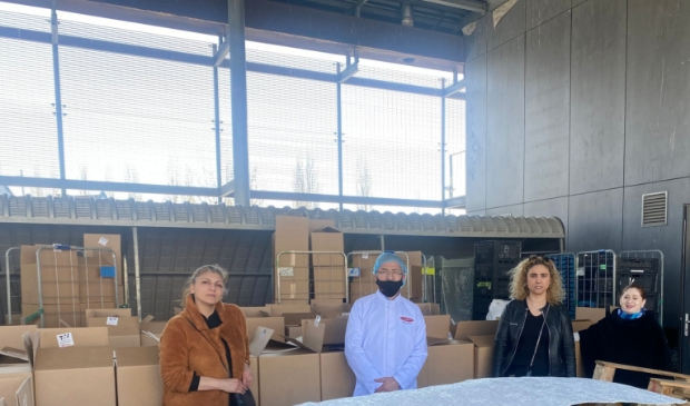 Tov Utrecht en Sabiet Balwantgir coördinator voedselbank