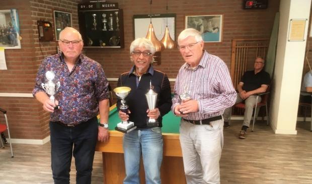 V.l.n.r. Jaap de Koff, Joseph Latuny en Bert Kraaijeveld