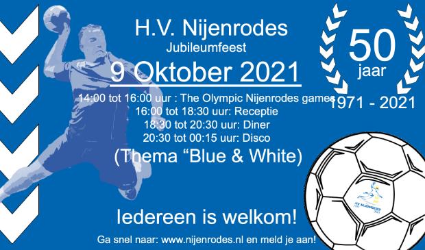 Programma jubileum HV Nijenrodes 9 oktober