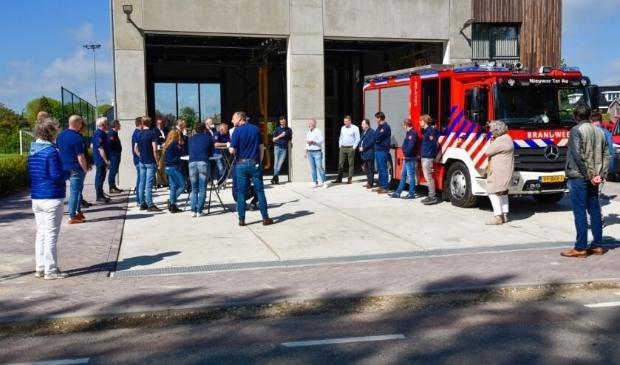 Voor de zomer zijn de brandweerwagens al verhuisd