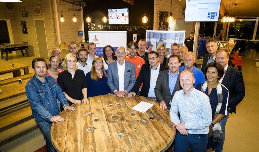 Kick-off borrel Verenigingsondersteuning, Rabobank RMIJ