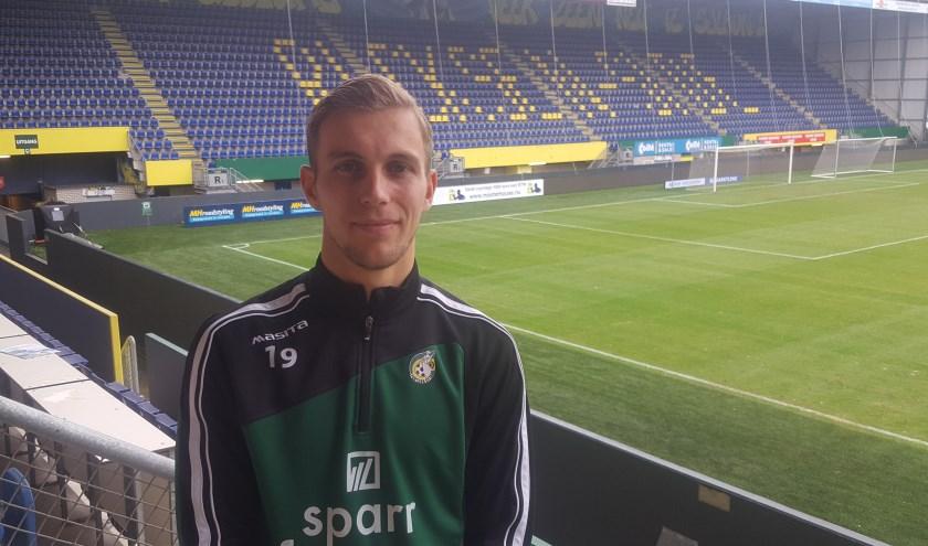 Finn Stokkers had met zijn dertien goals een flink aandeel in promotie naar de Eredivisie.