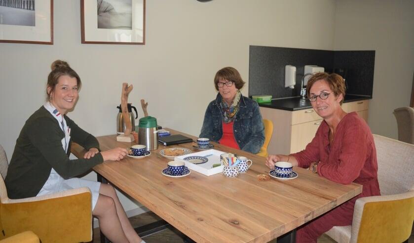 Dorinda van der Welle, Anke Preesman en Marleen Hout