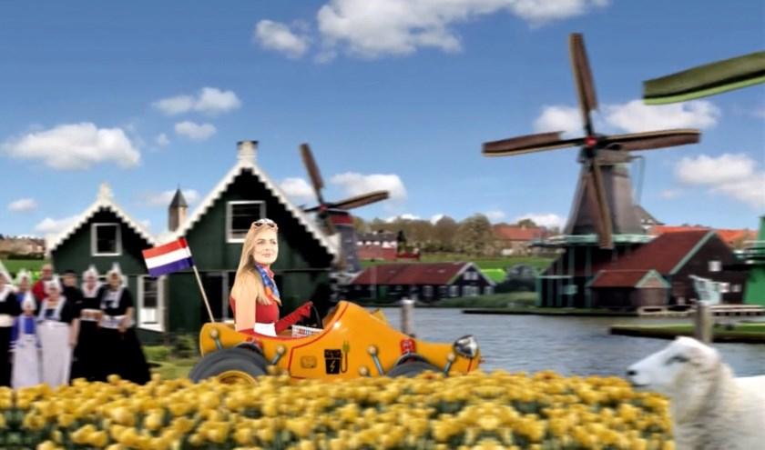 Een filmpje in een Hollands landschap