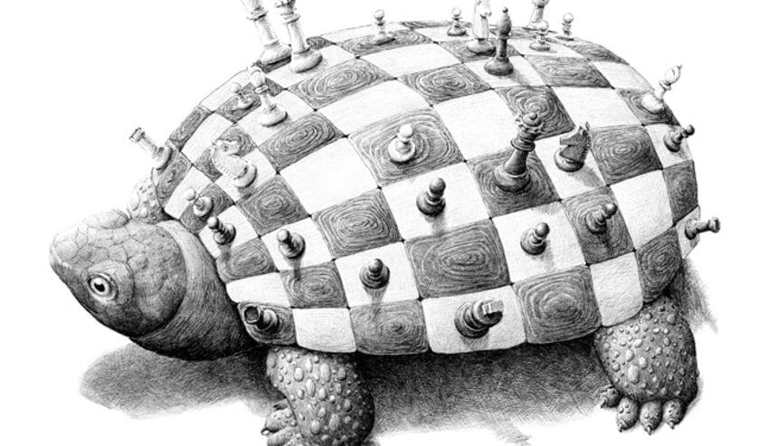 'Schaakpad' van Redmer Hoekstra