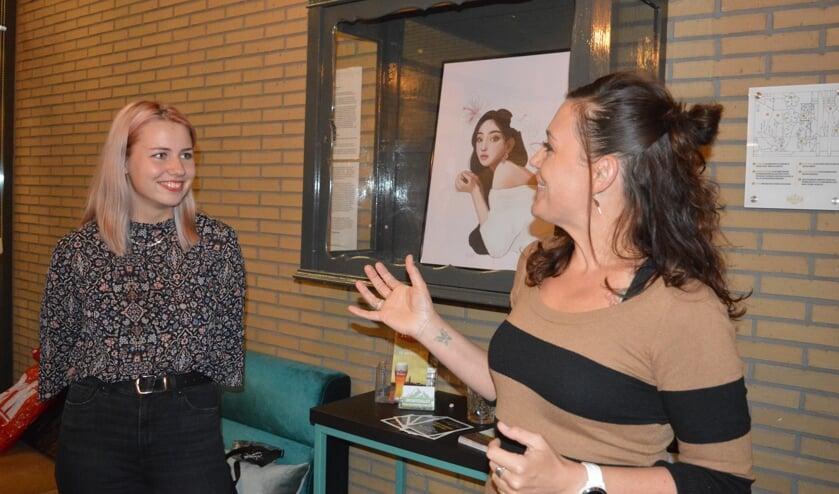 Kirsten Vermeulen van de Kunstroute introduceert 'Rozies'