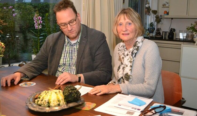 Hugo Langendoen en Coby van der Schee zijn betrokken bij de organisatie van de reis.