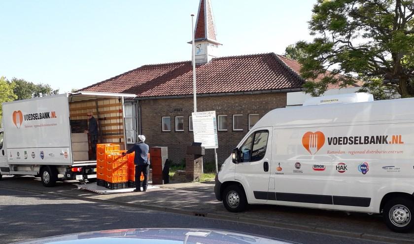 De Voedselbank  verzorgt nu meer dan honderd pakketten voor Ridderkerkers