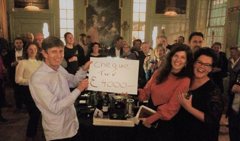 Vorig jaar leverde de wijnavond 4000 euro op