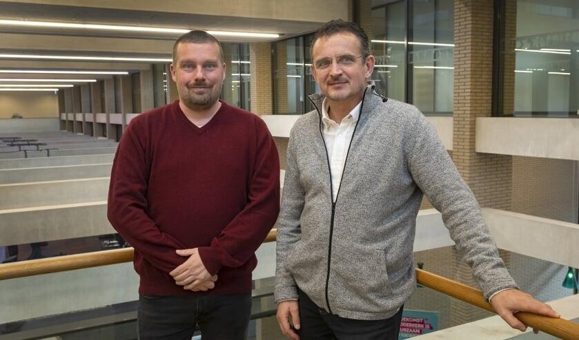 Wethouder Henk van Os (links) heeft alle vertrouwen in André van Kesteren