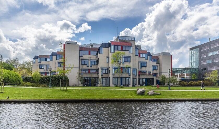 Het Stadsbouwhuis in Leiden. (foto: pr)