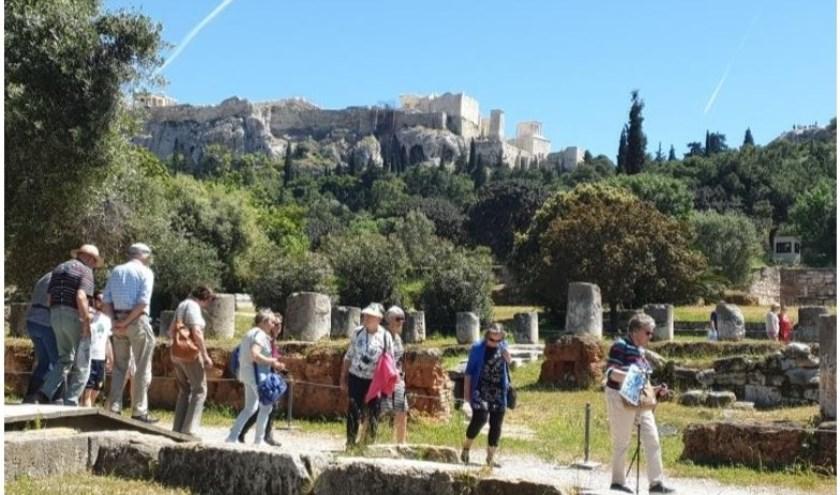 Ook het oude Griekenland wordt niet vergeten