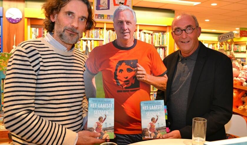 Arhrus van den Boogaard, Johan Cruijff en Jos Vis.