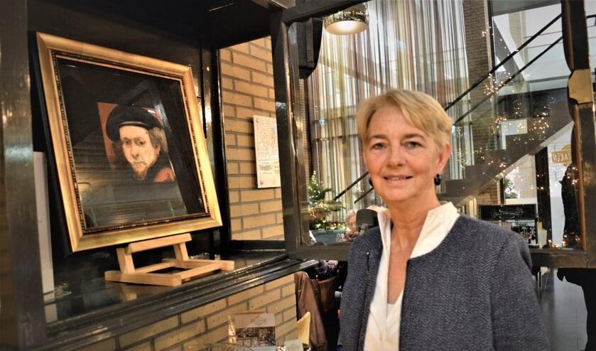 Marian Roth bij haar Rembrandt
