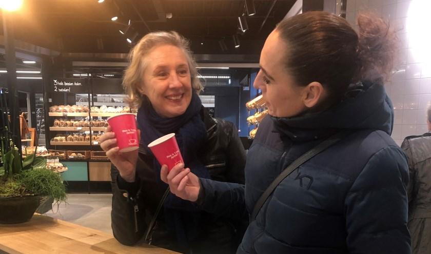 """Sandra van Marion en Eveline Freling willen Ridderkerks 'een bakkie"""" laten doen"""