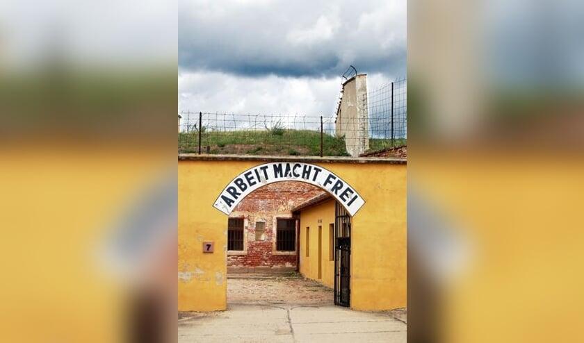 Het voormalige getto van Theresienstadt.