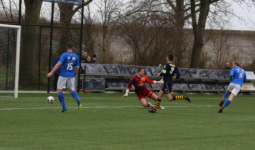 Jimmy van der Vaart maakte de vierde voor Rijsoord