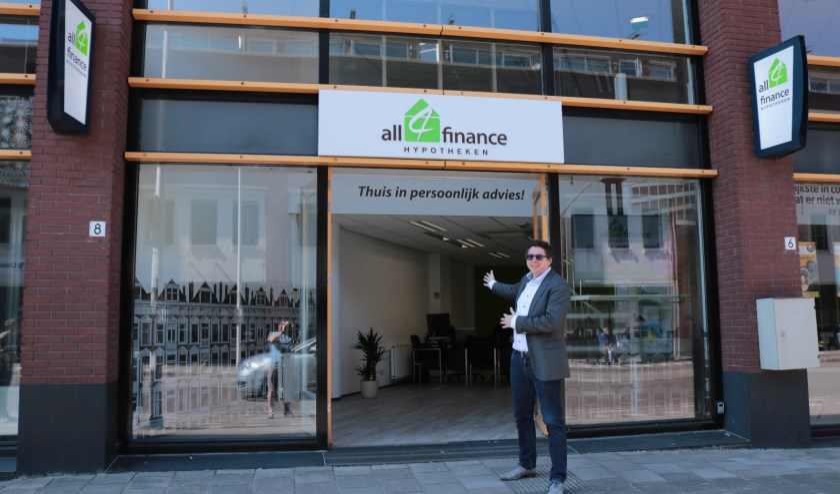 Michael Monden heet iedereen welkom bij All4finance
