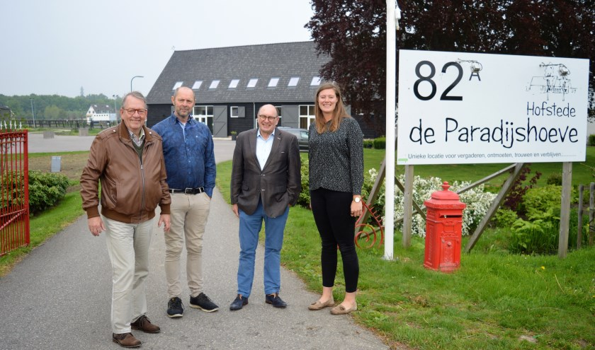 Lex Figee, Piet Plaisier, Jan Jippes en Marieje kijken uit naar 13 mei