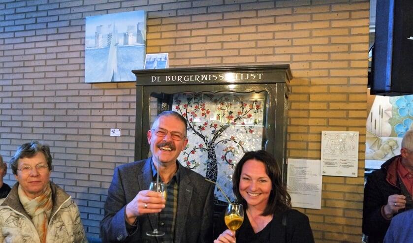 Gaby Kronemeijer en Bert Vlot delen deze maand de Burgerwissellijst