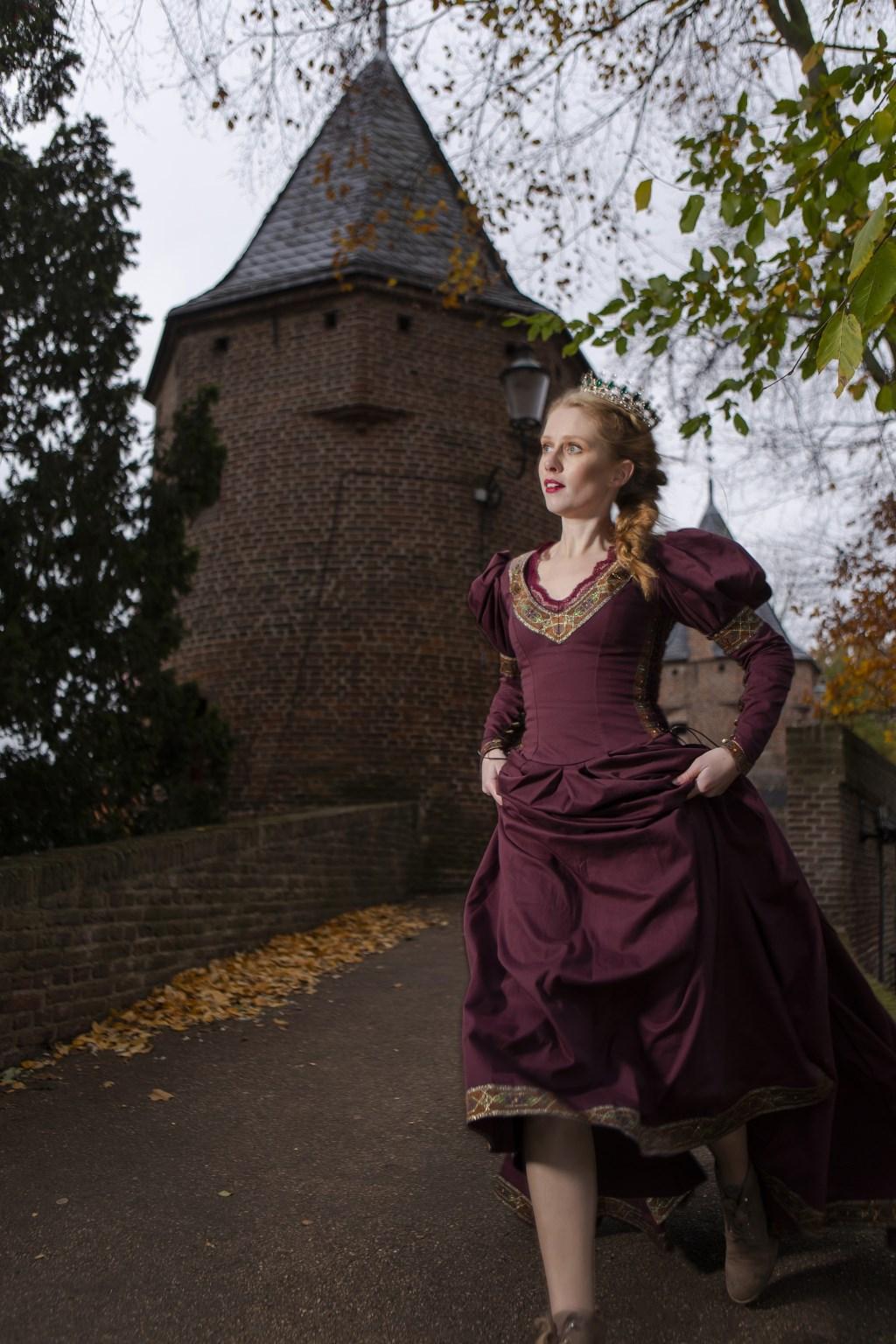 Het kinderkasteel vertelt het verhaal van een prinses Foto: A. MeesterAMPhot.nl © Baruitgeverij