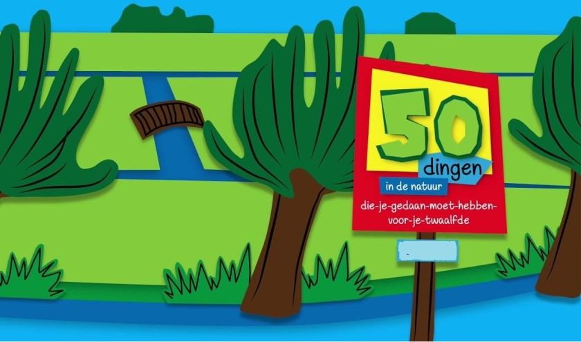 De 50-dingen-die-je-gedaan-moet-hebben-voor-je-12e-boekjes zijn een concept van Stichting De Buitenmakelaar