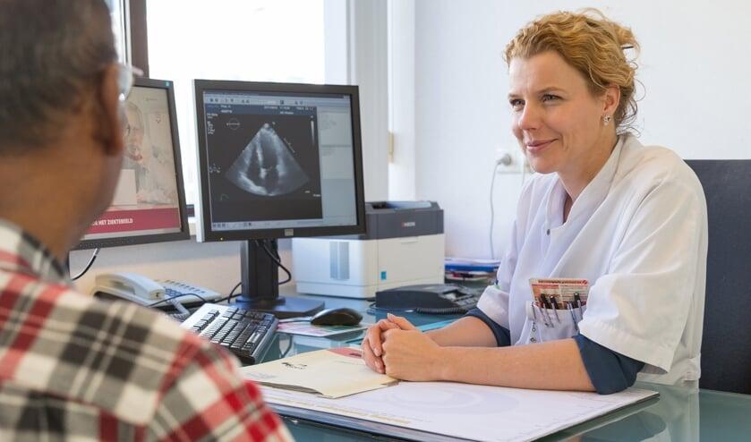 Cardioloog Mireille Emans- Ikazia Ziekenhuis Rotterdam. (foto: Wim Boon / Ikazia)