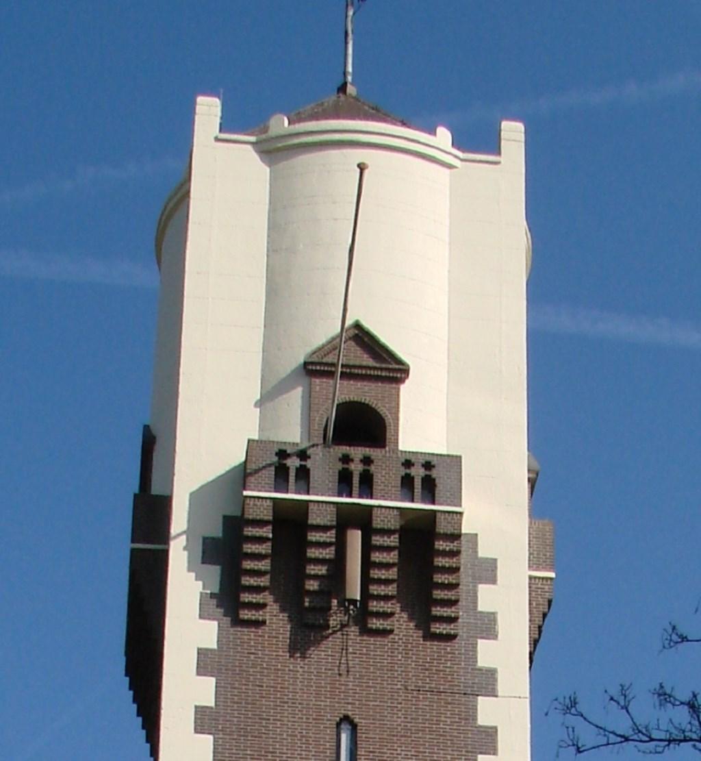 De watertoren is zaterdagmiddag open.   © Baruitgeverij
