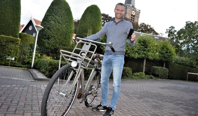 Jesper Lagendijk hoopt Ridderkerkers voor de Fitcoun-app te winnen