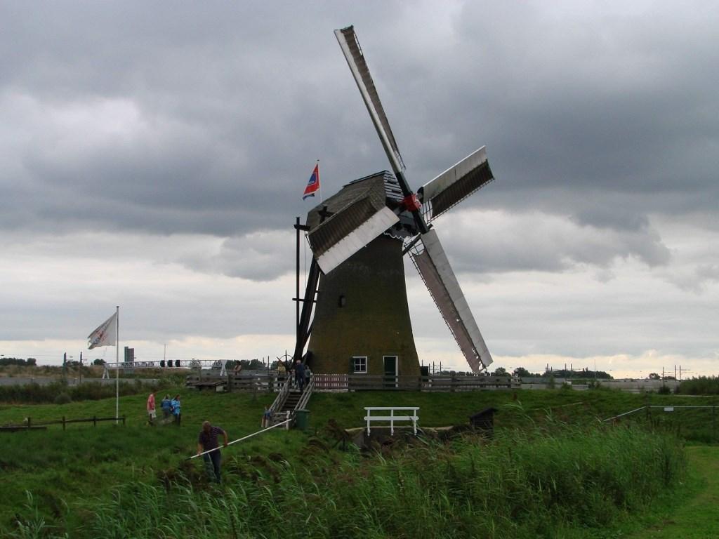 De Pendrechtse Molen is zowel zaterdag als zondag open.   © Baruitgeverij